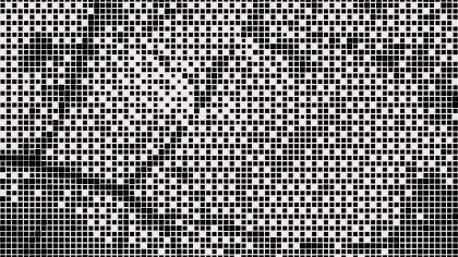 Black and White Dot Background Design