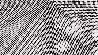 Black and White Dot Background Design