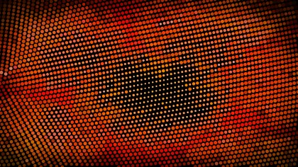 Black Red and Orange Dots Background Vector Art