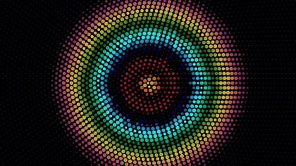 Cool Circular Dots Background