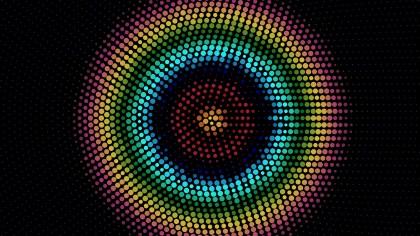Cool Circular Dots Background