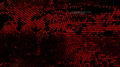 Cool Red Halftone Dot Background Design