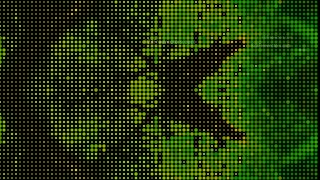 Green and Black Dot Background
