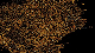 Orange and Black Dotted Background Illustrator
