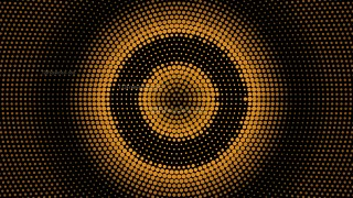 Orange and Black Circular Dot Background