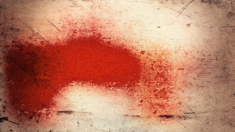 Beige and Red Grunge Background