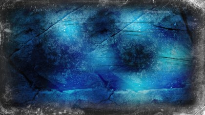 Black and Blue Grunge Background Image