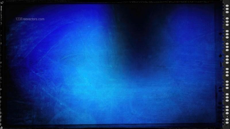 Black and Blue Grunge Background