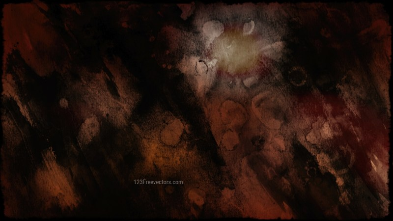 Black and Brown Grunge Texture Background