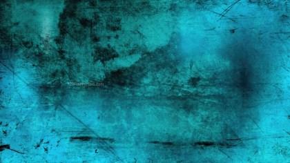 Black and Turquoise Grunge Background Image