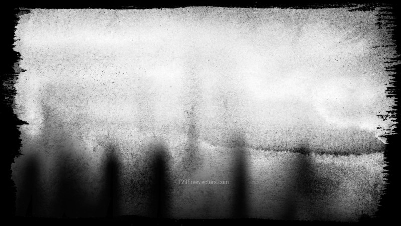 Black and White Grunge Texture Background