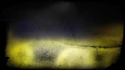 Black and Yellow Grungy Background
