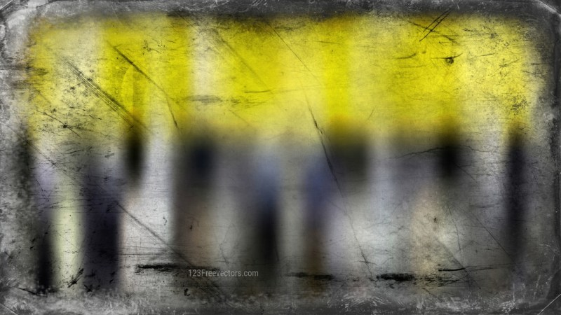 Black and Yellow Textured Background