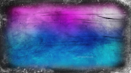 Black Blue and Purple Grungy Background Image