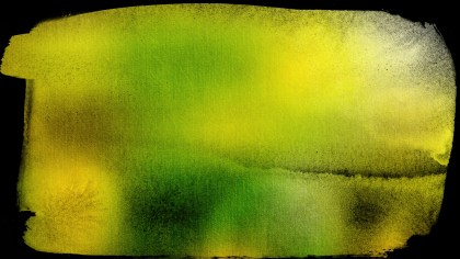 Black Green and Yellow Grunge Background Image