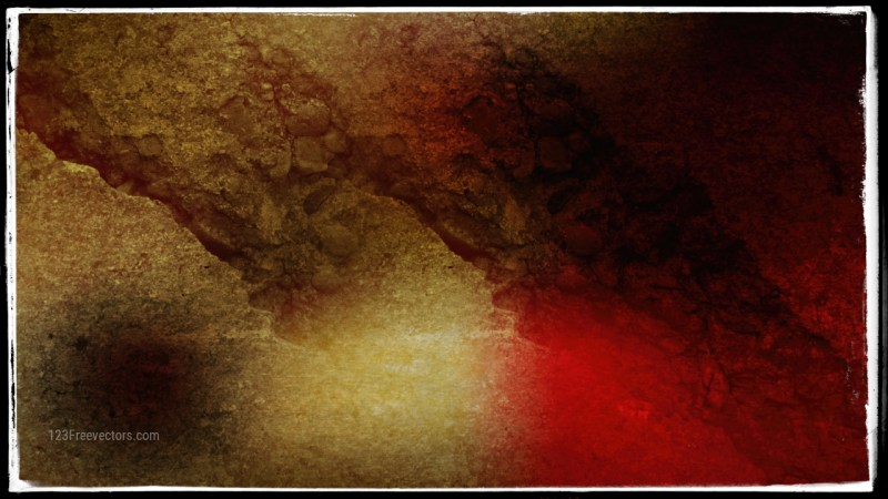 Black Red and Gold Textured Background Image