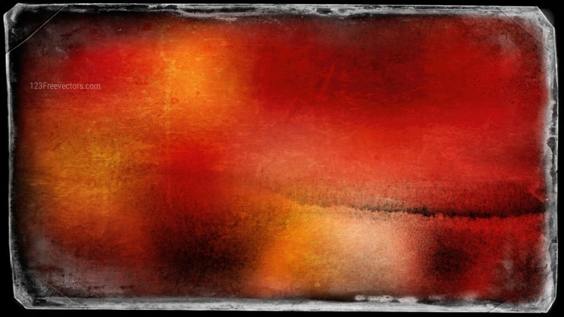 Black Red and Orange Grunge Background