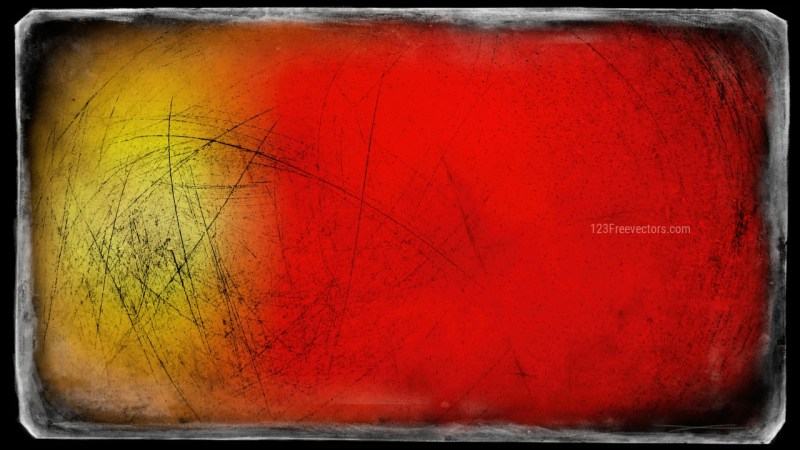 Black Red and Yellow Grunge Background Image