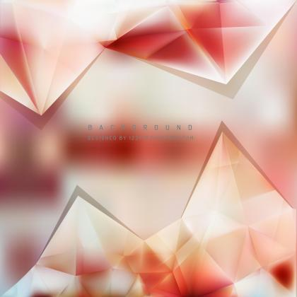 Abstract Light Color Triangle Polygonal Background Design