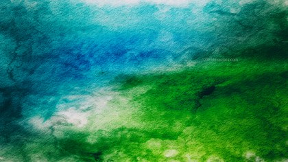 Blue and Green Background Texture Image