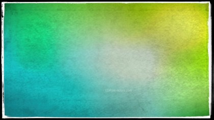 Blue and Green Grunge Background Image