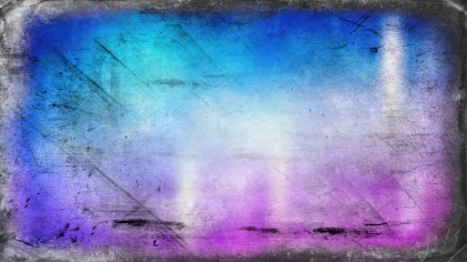 Blue and Purple Grunge Texture Background