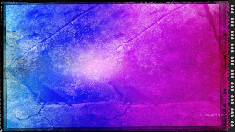 Blue and Purple Grunge Background Texture Image