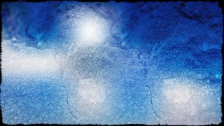 Blue and White Grunge Background Image