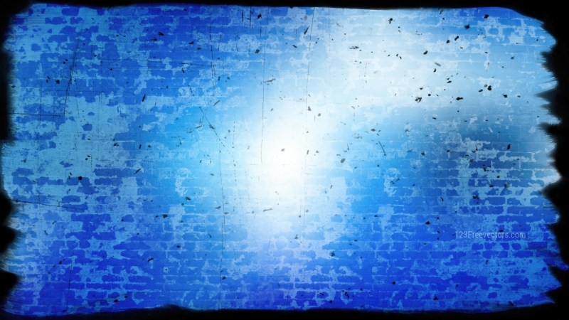 Blue and White Grungy Background