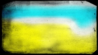 Blue and Yellow Texture Background