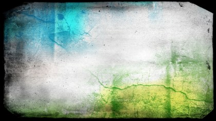 Blue Green and White Grunge Background