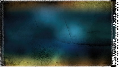 Blue Orange and Black Dirty Grunge Texture Background