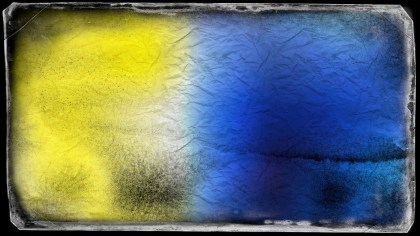 Blue Yellow and Black Textured Background Image