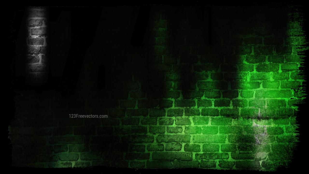 Cool Green Grunge Background
