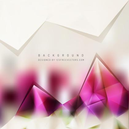 Light Color Triangle Polygonal Background Design