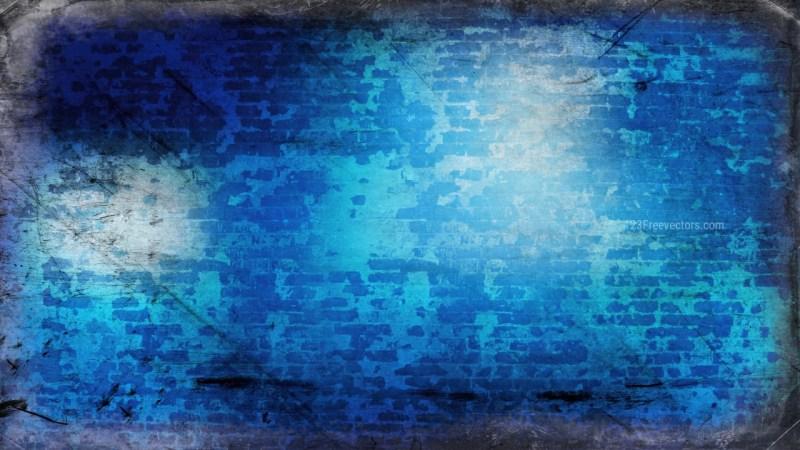 Dark Blue Grunge Background Image