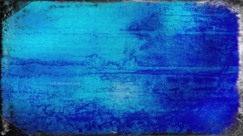 Dark Blue Grungy Background Image