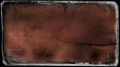 Dark Brown Dirty Grunge Texture Background Image