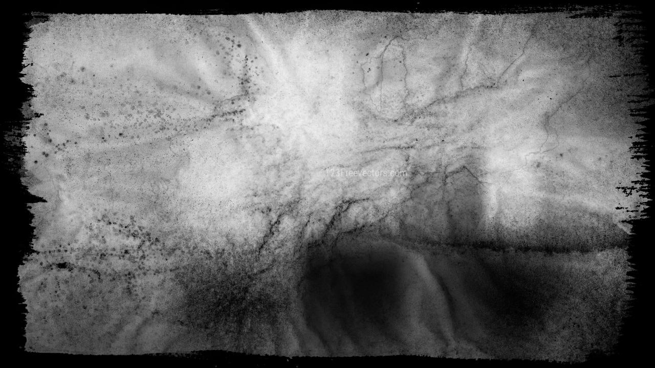 Dark Grey Grunge Background Texture