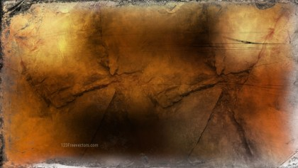 Dark Orange Grunge Background