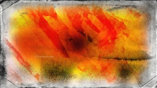 Dark Orange Dirty Grunge Texture Background Image