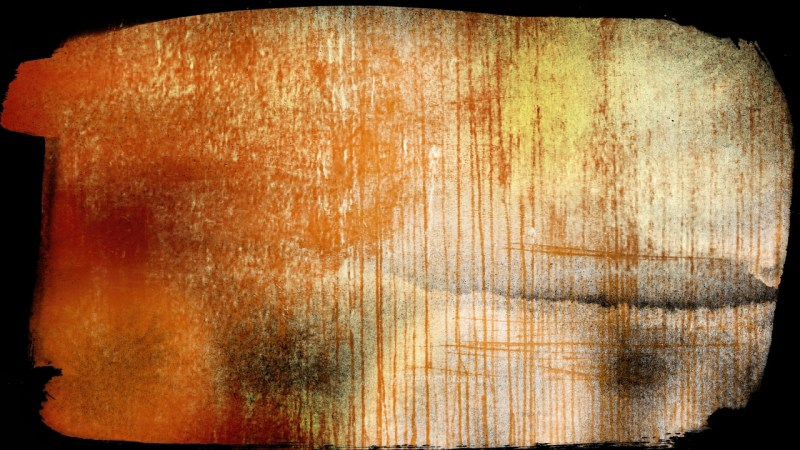 Dark Orange Grunge Texture Background