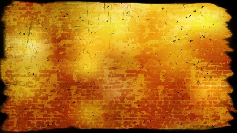 Dark Orange Grunge Texture Background