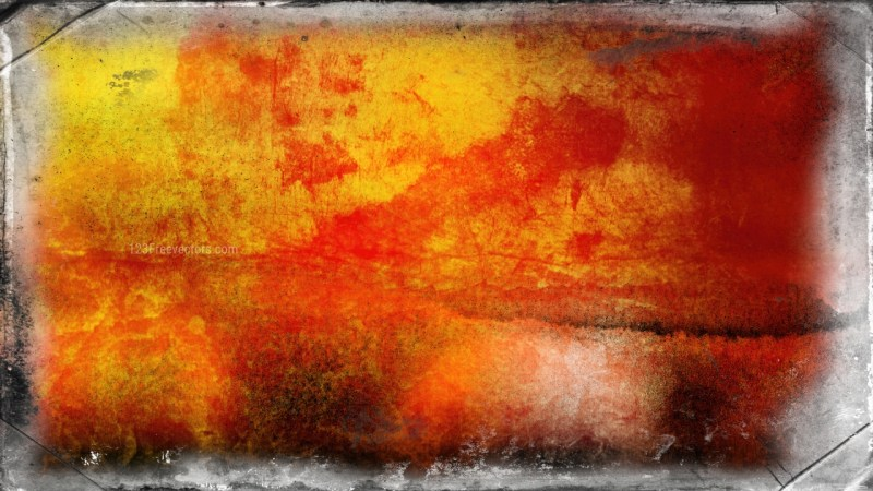 Dark Orange Grunge Texture Background Image