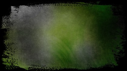 Green and Black Grunge Background Texture Image