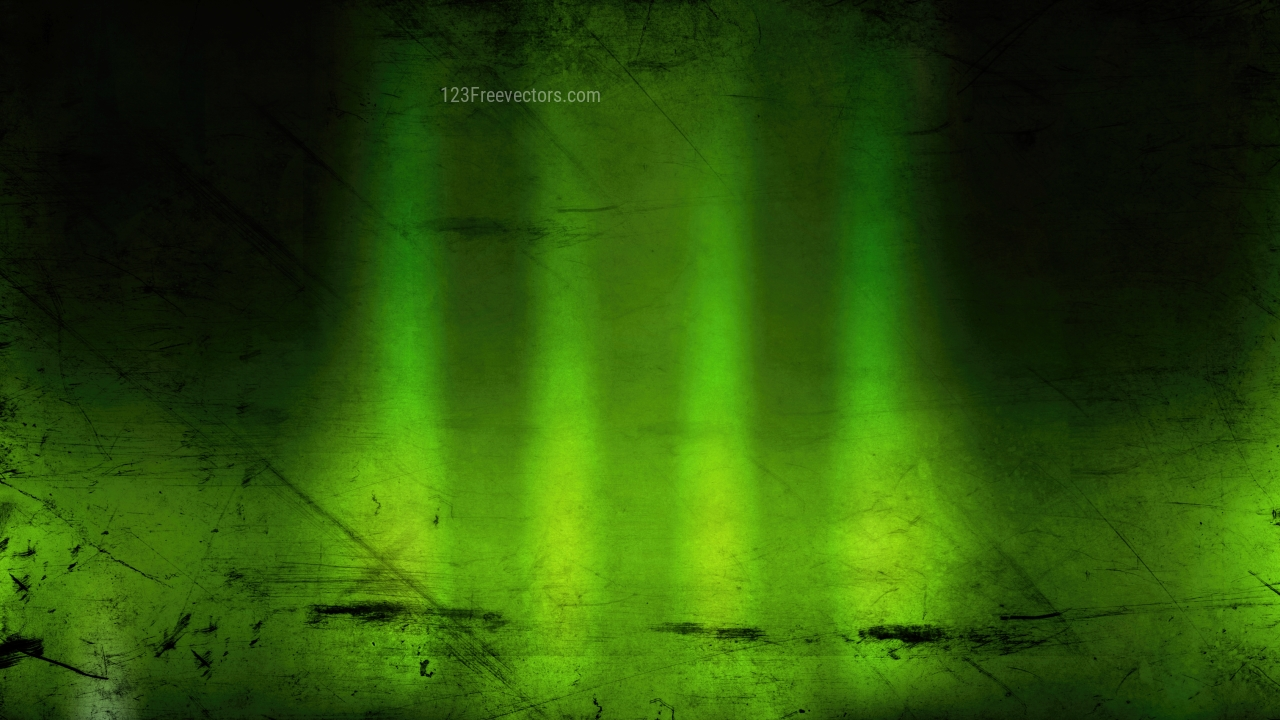 Green and Black Grungy Background Image
