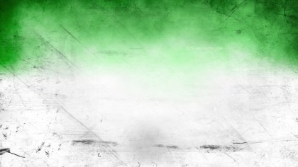 Green and White Grunge Texture Background