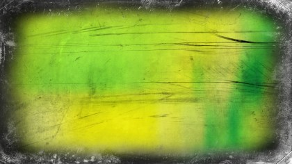 Green and Yellow Grunge Background