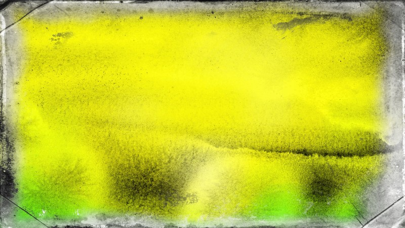 Green and Yellow Grungy Background