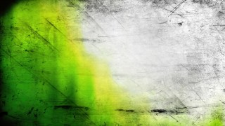 Green Yellow and White Grunge Background Image
